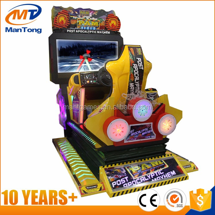 3D motion coin operated car racing game machine simulator arcade racing car game machine for game center