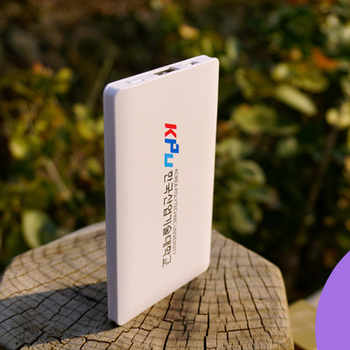 mobile slim 4000mah custom rohs power bank portable charger