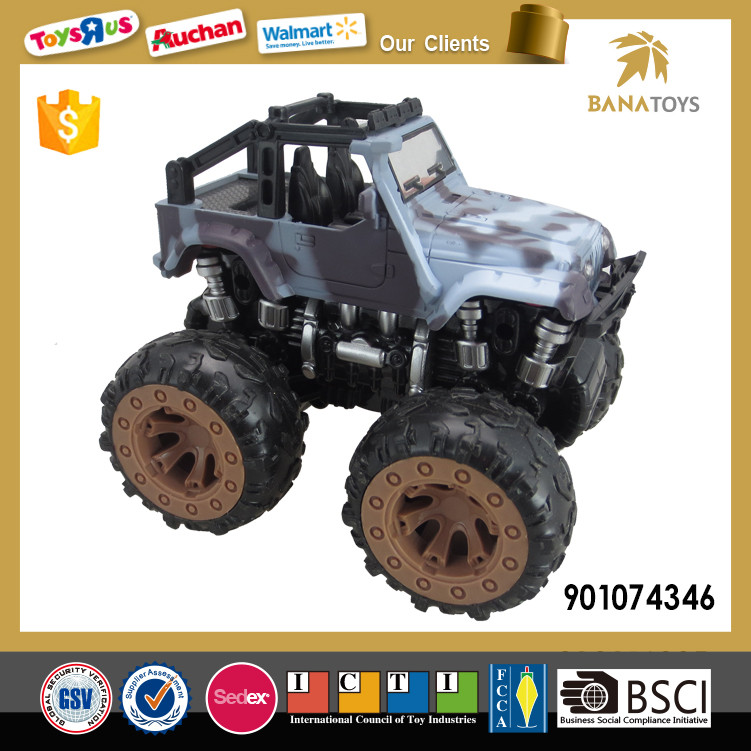 Friction power pick up 4wd truck toy