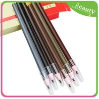Sample free eyebrow pencil eye liner pencil ,H0Tqhv dark brown eyebrow pencil
