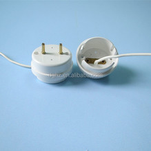 Safety and competitive price decorative fluorescent lamp socket g13 with one wire