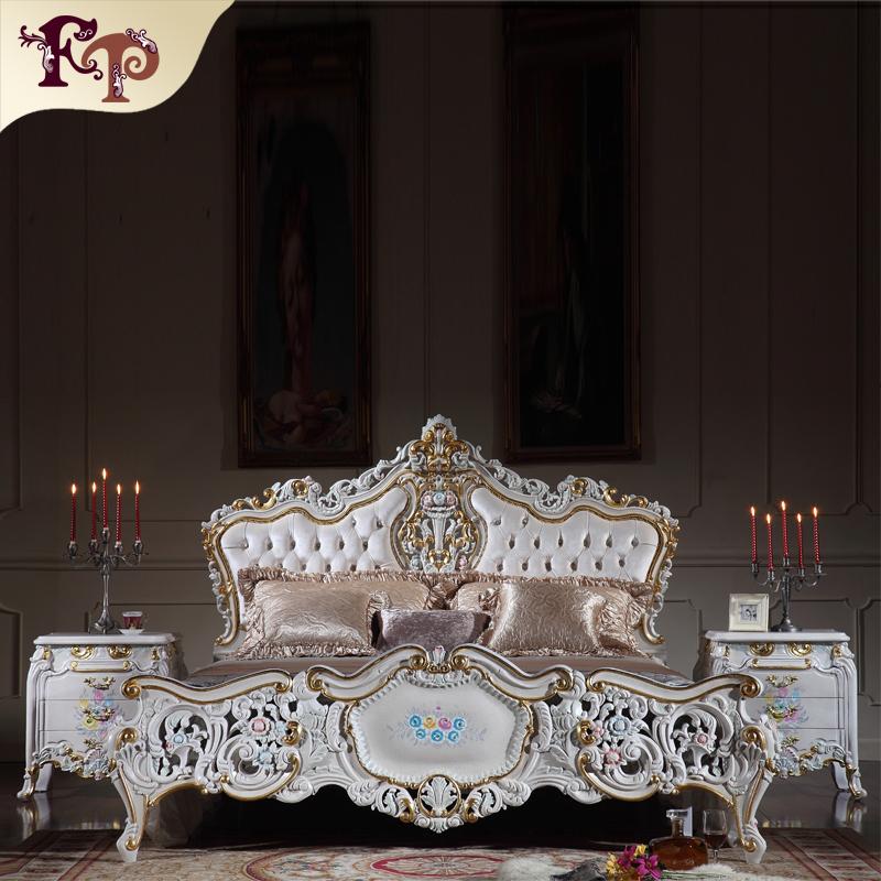 Italienische möbel schlafzimmer- Palast Royal schlafzimmermöbel-Bett ...