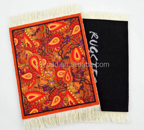 new style woven mouse rug pad