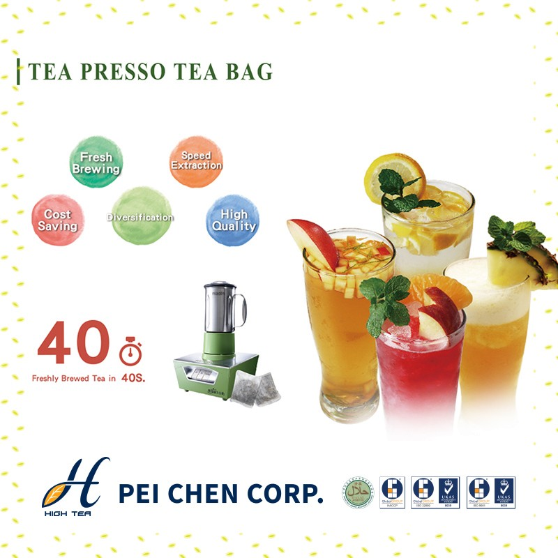 High Quality Taiwan Hot Sale Tea Bag Supply for Bubble Tea