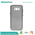 Heat Dissipation and Breathable Phone Case TPU Back Covers for Samsung S8