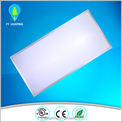 UL rated 1x4 2x2 2x4 recessed led panel light aluminum frame for office lighting