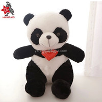 China custom cute fat panda plush toy panda bear stuffed toys