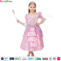 kids pink glamour princess dress costume original design children halloween costumes china wholesale