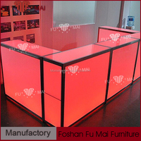 new design led bar counter/illuminated table/led illuminated furniture