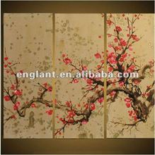 New High Quality Beautiful Handpainted Oil Painting Pictures Of Flowers