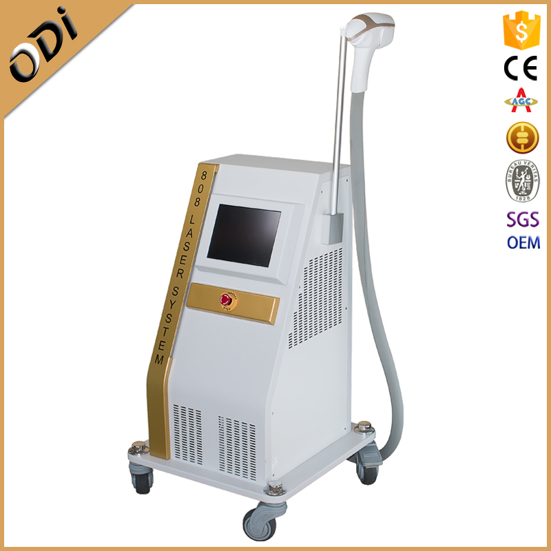 Collimated Beam Type 808nm diode laser permanent hair removal for men
