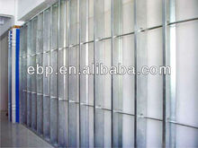 fire rated fiber cement board with modular wall systems