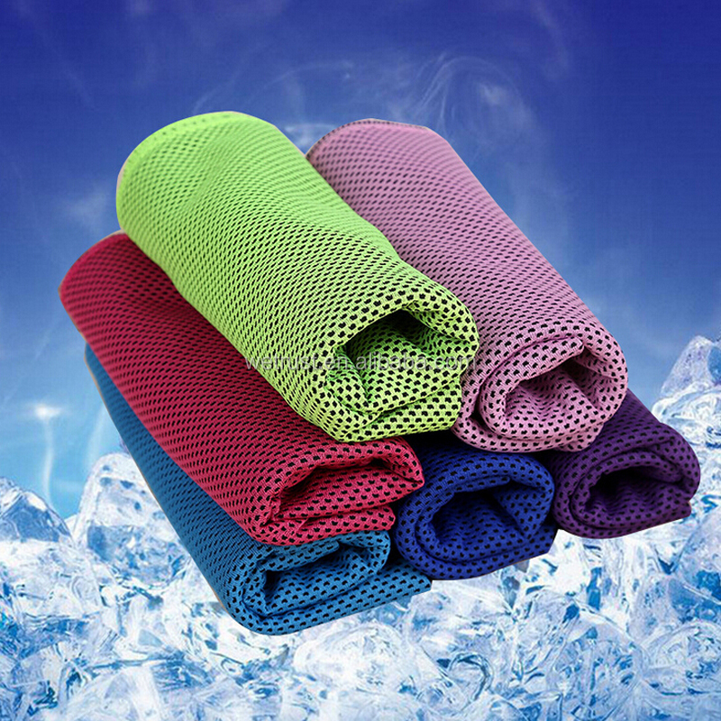 Ice Cold Cool Super Cooling Towel Scarf Cycling Jogging Golf Sports Cool Towel