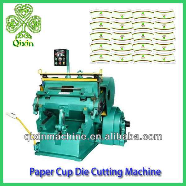 Selling High Quality Paper Cup Die Cutting Machine