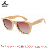 2016 most popular eco-friendly custom bamboo wooden sunglasses