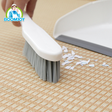 HOUSEHOLD CLEANING TOOL MINI PLASTIC DUSTPAN AND BRUSH SET FOR TABLE