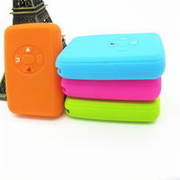 New coming factory wholesale silicon car key cover, hot sale remote key case for smart car key