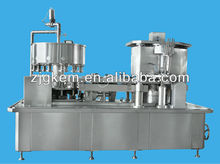 2-in-1 filler and seamer iron/aluminium can beer filling production line