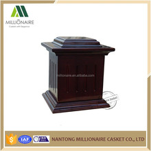 Wooden boxes urn wholesale