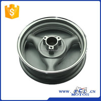 SCL-2013050059 GY6 150 Aluminum wheel aftermarket motorcycle parts with 3.50-13