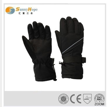 fashion winter gloves black ski gloves men ski gloves