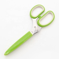 Stainless Steel Kitchen 5 Blade Paper Cutting Yangjiang Herb Scissors