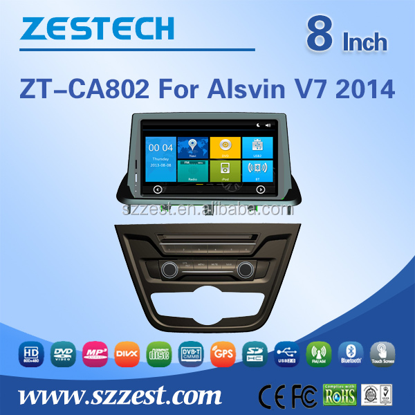 hot selling! for Changan Alsvin V7 2014 auto radio receive car gps navigation
