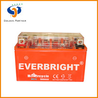 Well packed gel electrolyte motorcycle accessories of batteries