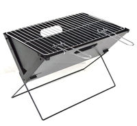 simple family chrome plated steel charcoal grill bbq