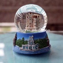 Custom wedding favors snow globe gifts glass snowball