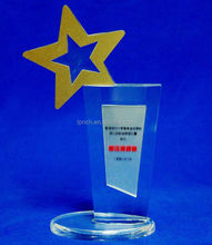 Custom Printing Logo Acrylic Inflatable Trophy Cup Made in China