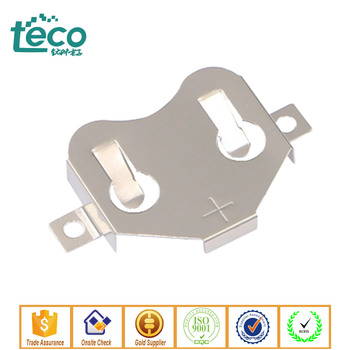 TBH-CR2450-M02 Ningbo TECO SMT Type Coin Cell Holder for CR2450 Battery