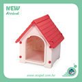 662-Taiwan design Lucky Dog House,dog indoor houses,Plastic Pet house