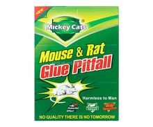 Quality Mickey Cats 80AA Mouse Glue Board Green Sticky Rat Trap