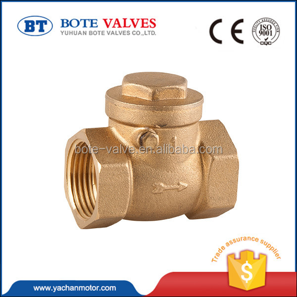 "new design 8mm brass 3"" inch foot valve with filter"