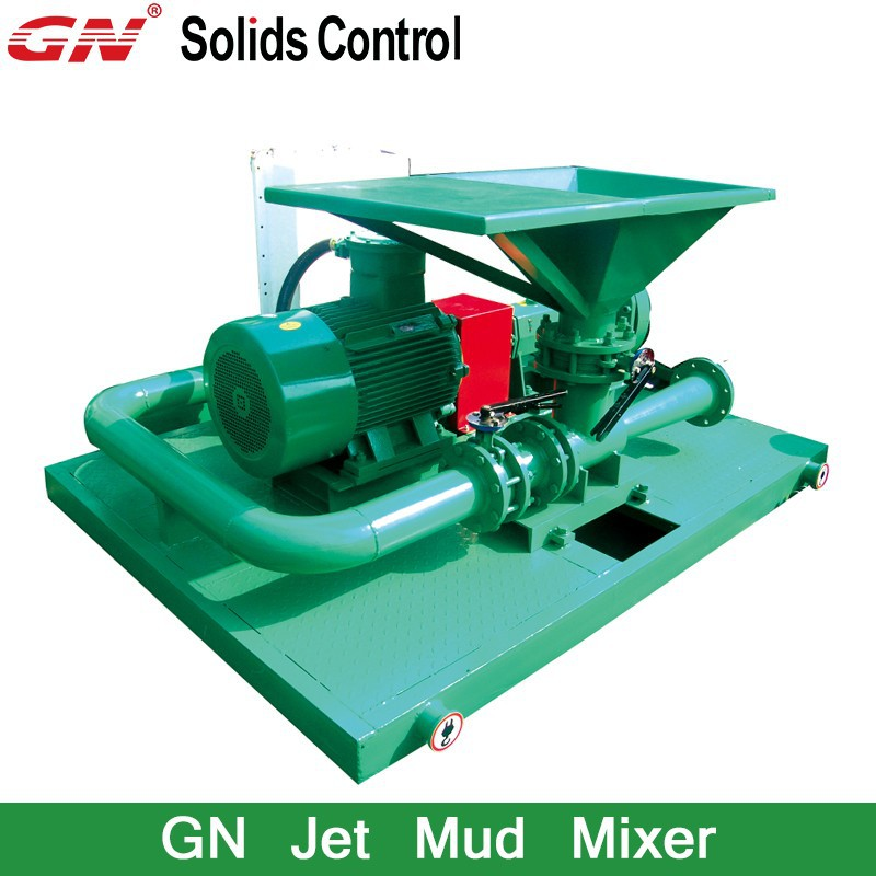 GN Jet Mud Mixer / Oil Drilling Mud Mixing Equipment Bentonite Mixer