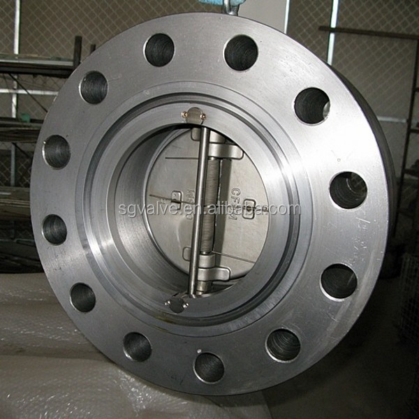 Flange Ends Stainless Steel Spring Loaded Check Valve