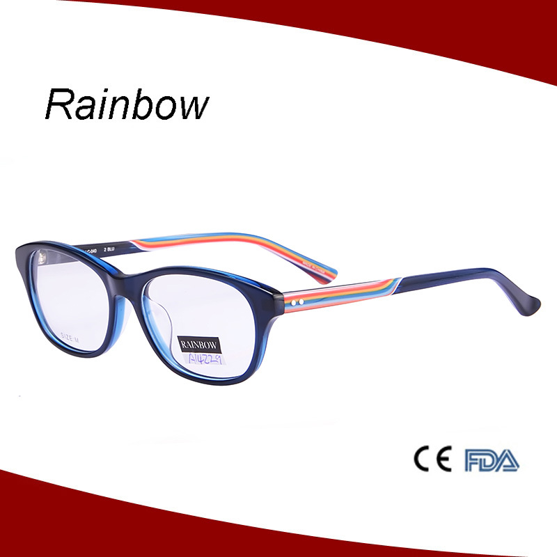 Best Eyeglass Frame Color : 2015 Best Selling Nice Eyeglass Optical Frames Rainbow ...