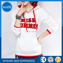 2017 fashion New Arrival pullovers 100 cotton hooded sweat l women hoodies sweatshirts printed hoody
