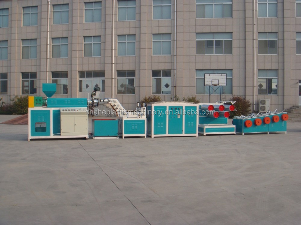 PP/PE/PET FILM Yarn Extruder Machine with Winder Machine