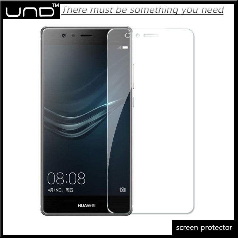 2017 high quality high clear tempered glass screen guard for huawei p9 plus