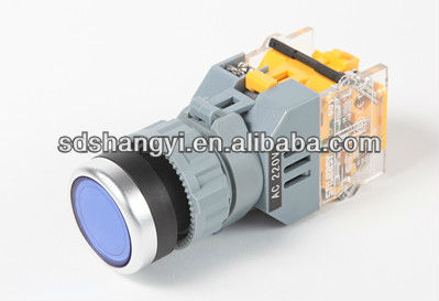 Hight quality led light manually push button