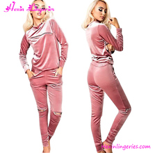 New arrival pink warm nice fashion new design womens jumpsuit