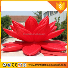 2016 New deign promotional giant inflatable lotus flower