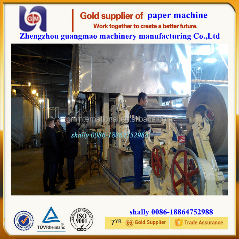 2400mm multi-dryer multi-cylinder mould corrugated/fluting/carton/testliner paper making machine