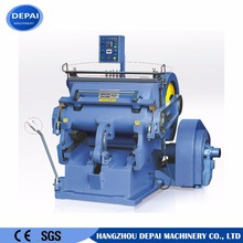 Manual paper creasing and cutting machine manual die cutting press machine