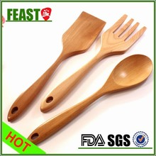 New style fashion wooden ice cream spoon crafts
