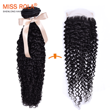 Cheap Wholesale 8A brazilian human hair extension Kinky Curly virgin hair bundles with lace closure