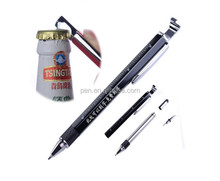 8 in 1 multi tool pen screwdriever ruler water level bottle opener