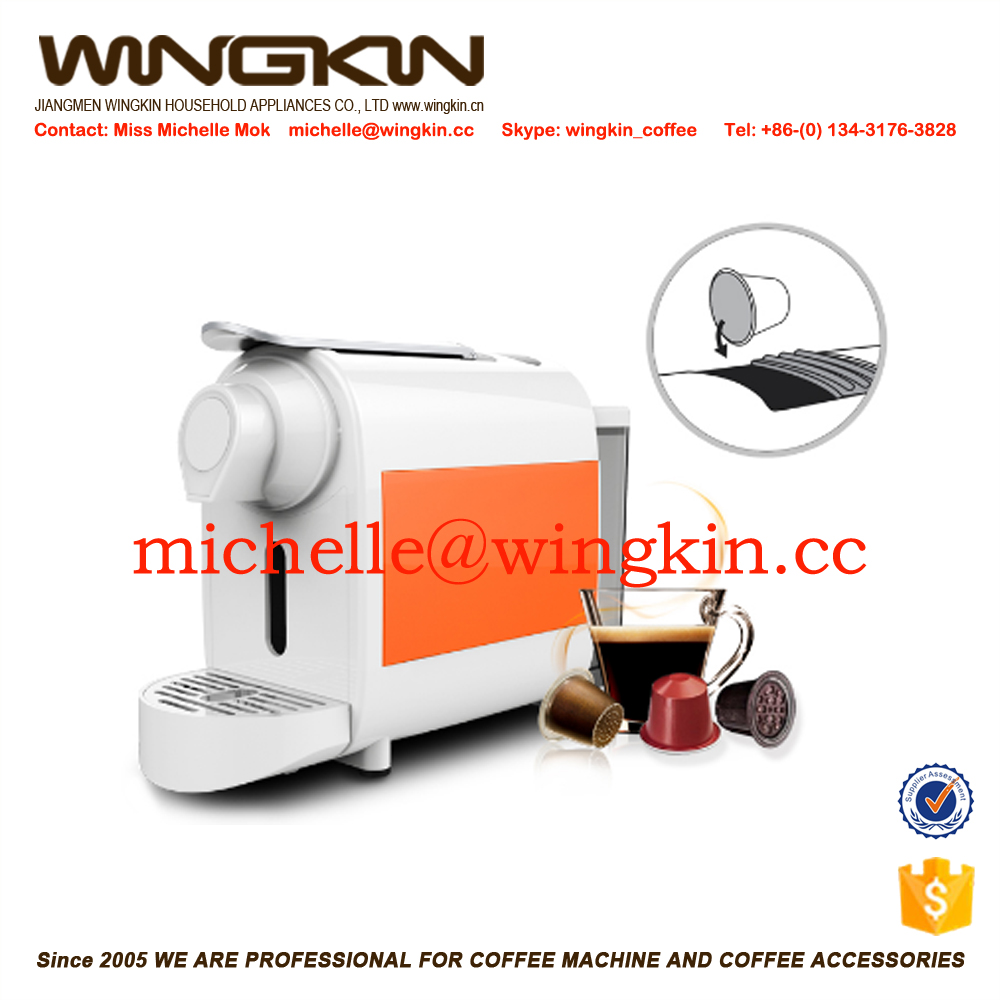 Professional nespresso capsule coffee pulper machine for different capsule
